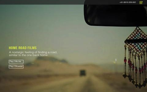 Screenshot of Home Page homeroadfilms.com - Animated Explainer Videos - Animation Production Companies | Home Road Films - captured July 21, 2018