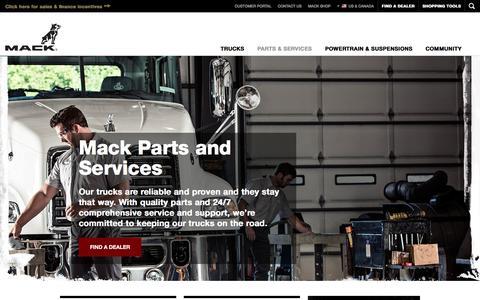 Semi Parts and Services | Mack Trucks