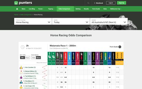Odds Comparison - Compare Australia's betting odds