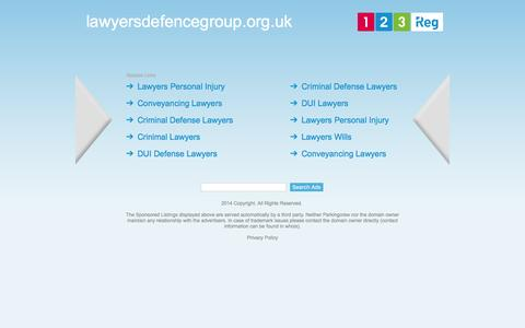 lawyersdefencegroup.org.uk