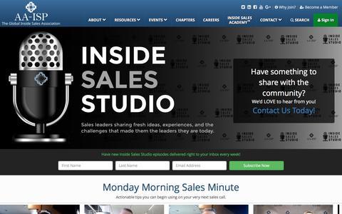 AA-ISP | Inside Sales Studio™