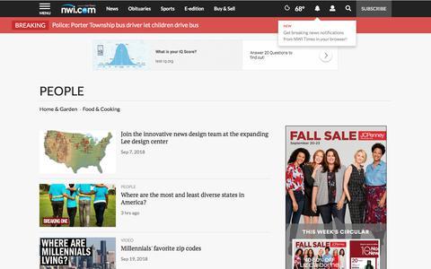 Screenshot of Team Page nwitimes.com - People | nwitimes.com - captured Sept. 22, 2018