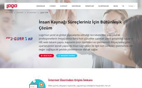 j-guar 3 HR| İnsan Kaynakları (İK) Çözümleri | Logo Yazılım