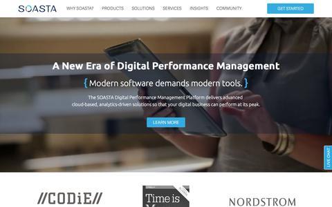 Load Testing and Performance Monitoring | SOASTA
