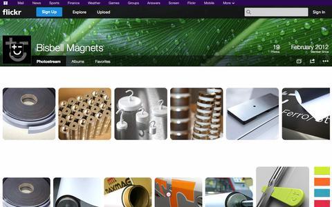 Screenshot of Flickr Page flickr.com - Flickr: Bisbell Magnets' Photostream - captured Oct. 23, 2014