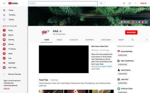 AAA - YouTube - YouTube