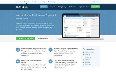 Screenshot of Pricing Page gurock.com - Test Plans and Test Plan Software - TestRail - captured April 4, 2017