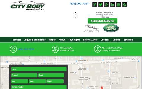 Screenshot of Blog citybodyrepairs.com - Blog - City Body Repairs - captured July 21, 2015