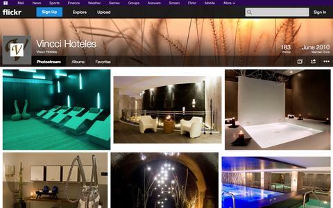 Screenshot of Flickr Page flickr.com - Flickr: Vincci Hoteles' Photostream - captured Oct. 26, 2014