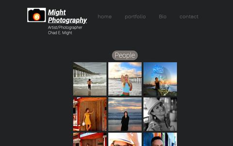 Screenshot of Team Page mightphotography.com - Mysite | People - captured Dec. 14, 2018