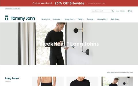 SleekHeat™ Long Johns | Tommy John