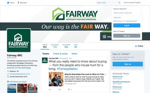 Fairway IMC (@FairwayMC) | Twitter