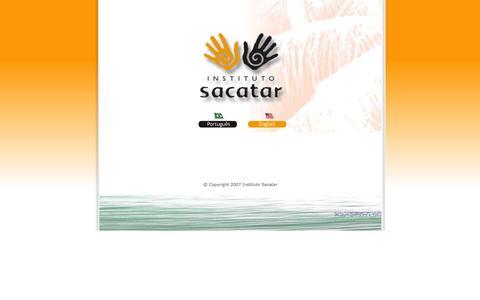 Screenshot of Home Page sacatar.org - :: sacatar foundation brazil :: - captured Oct. 6, 2014