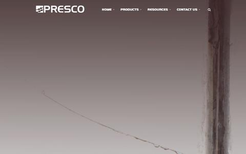 Screenshot of Locations Page presco.com - Where to Buy | Presco :: Manufacturer of Marking Products and Engineered Films - captured Jan. 31, 2016
