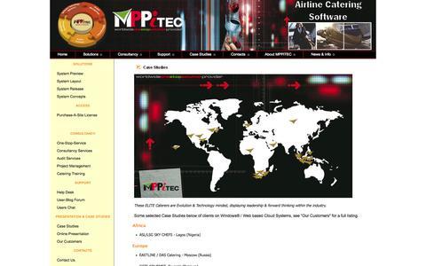 Screenshot of Case Studies Page mppitec.com - MPPiTEC.com - captured Sept. 30, 2014