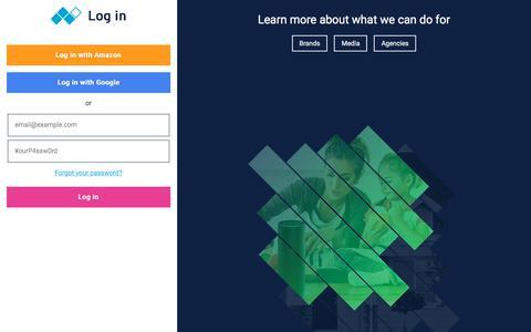Screenshot of Login Page xappmedia.com - Login | XAPPmedia - captured Oct. 12, 2019