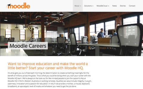 Moodle Careers and Jobs at HQ • Moodle