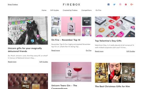 Firebox Blog - Gift Guides Galore