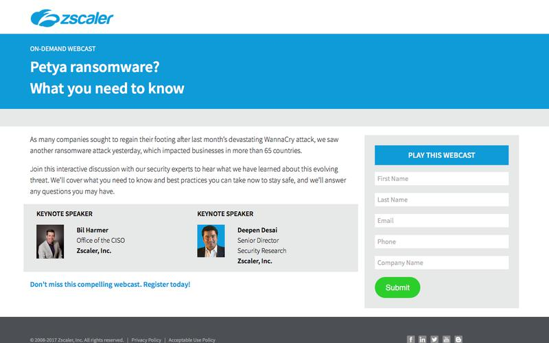 Petya ransomware attack: What you need to know   Zscaler