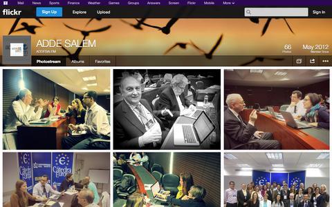 Screenshot of Flickr Page flickr.com - Flickr: ADDESALEM's Photostream - captured Oct. 24, 2014