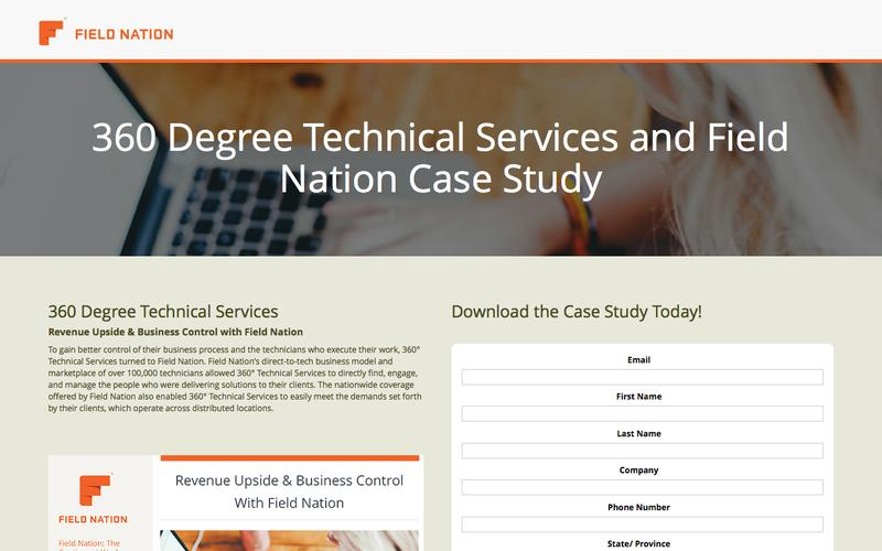 360 Degree Technical Services and Field Nation