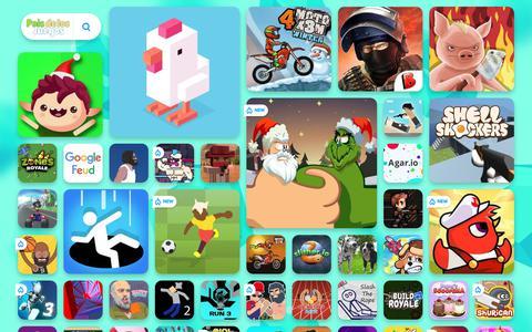 Screenshot of Home Page paisdelosjuegos.cl - JUEGOS GRATIS ONLINE - Juega Juegos Gratis en PaisdelosJuegos! - captured Dec. 19, 2018