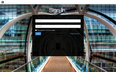 Screenshot of Login Page drgok.com - Delaware Resource Group :: Login - captured Jan. 8, 2016