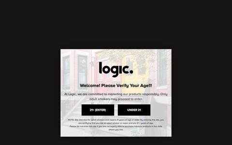 Screenshot of About Page logicvapes.us - About Logic | Best Vaporizers & E Cigs Online | Logic Vapes | logic - captured Dec. 5, 2018