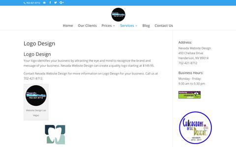 Logo Design | Nevada Website Design | Henderson | Las Vegas