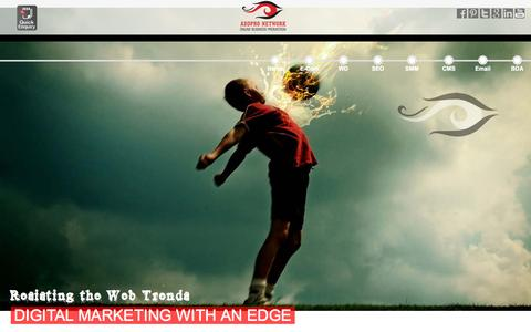 Screenshot of Home Page addnetit.com - Web Design Company In Bangalore | SMO company in Bangalore | Addpro Network - captured Sept. 15, 2015