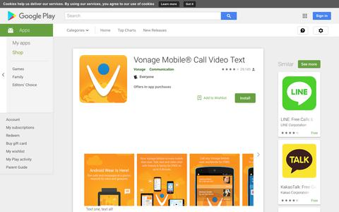 Vonage Mobile® Call Video Text - Apps on Google Play