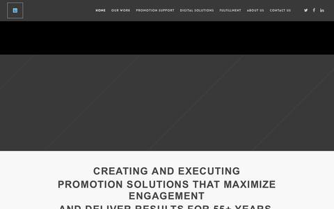 Screenshot of Home Page dja.com - DJA.com – The Promotion Professionals - captured April 17, 2018