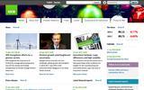 Old Screenshot SEB Home Page