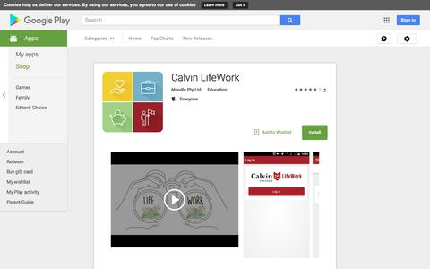 Calvin LifeWork - Android Apps on Google Play