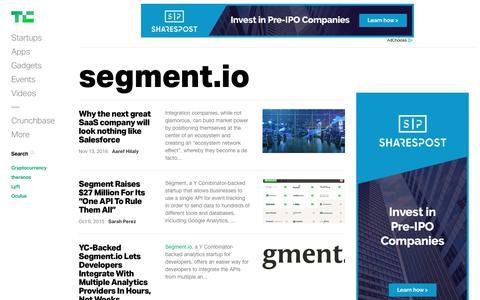 segment.io | TechCrunch