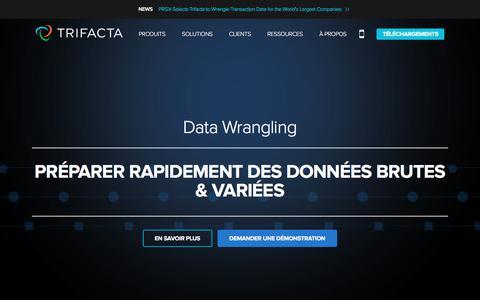 Data Wrangling Tools & Software | Trifacta