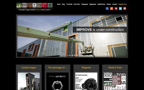 Screenshot of Contact Page improvecanada.com captured Oct. 8, 2014