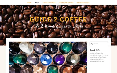 Screenshot of Press Page guide2coffee.com - Guide 2 Coffee — Guide 2 Coffee - captured April 9, 2017