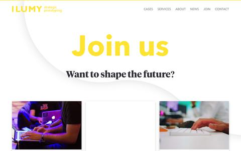 Screenshot of Signup Page ilumy.com - Join - captured Oct. 1, 2018