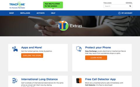 TracFone Extras