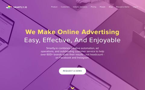 Smartly.io - Facebook and Instagram Performance Marketing Platform