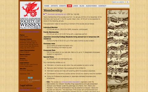 Screenshot of Signup Page ajsw.org.uk - AJSW :: Membership - captured March 13, 2016