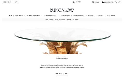 Screenshot of About Page bungalow5.com - About Us - Bungalow 5 - captured Aug. 4, 2018