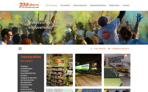 Screenshot of Home Page dpscompany.nl - DPS Company - DPS Company - captured June 3, 2017