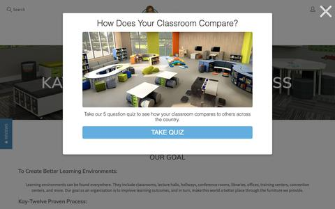 Screenshot of About Page kay-twelve.com - Classroom Furniture | Creating Better Learning Environments | Kay-Twelve – Kay-Twelve.com - captured Oct. 15, 2018