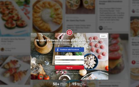 Screenshot of Home Page pinterest.com - Pinterest: Discover and save creative ideas - captured Feb. 15, 2016