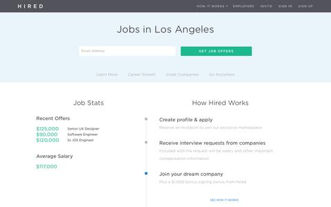 Jobs in Los Angeles, CA - Hired - Hired