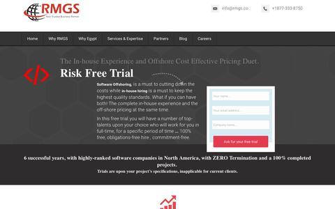 Screenshot of Trial Page rmgs.co - Hiring - captured Jan. 12, 2016