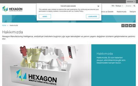 Screenshot of About Page hexagonmi.com - Hakkımızda | Hexagon Manufacturing Intelligence - captured Nov. 25, 2017