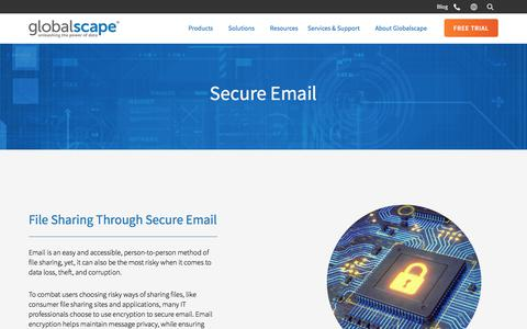 Secure Email | Globalscape